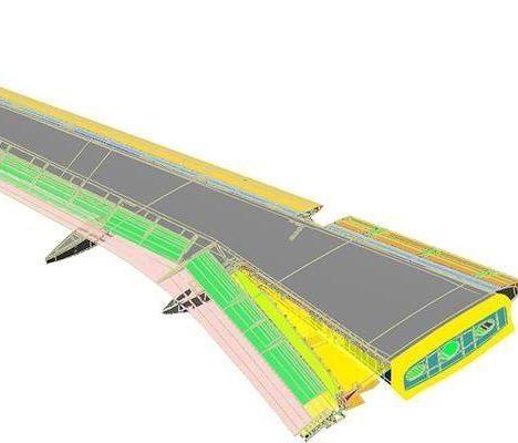 Etuve polymerisation composites aéronautique