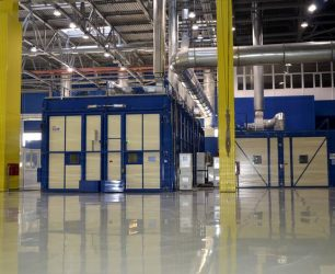 Expert turn key production line industrial oven