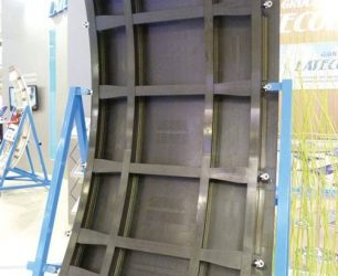 Fabricant étuve polymérisation composite porte carbone aéronautique