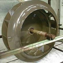 Fabricant four industriel de cuisson de revêtement Ectefe Turbine