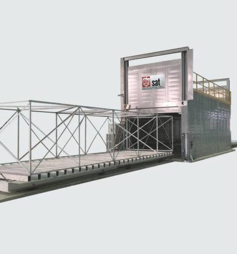 Fabricant four de revenu traitement thermique aéronautique