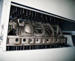 Fabricant machine Slush Moulding automobile, tableau de bord