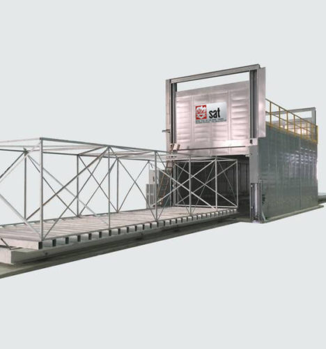 Fabricante de horno de revenido tratamiento termico aeronautica