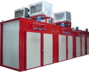 Fabricante Tunel Estufa Recalentamiento Bidones