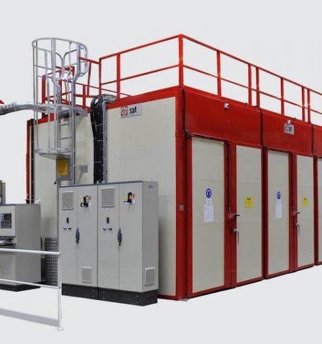 Hersteller von Industrieöfen für die Behandlung von Elastomeren