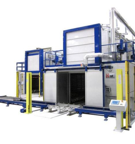 Hersteller von Industrieöfen für die Wärmebehandlung von Teilen aus Polycarbonat und Polyamid