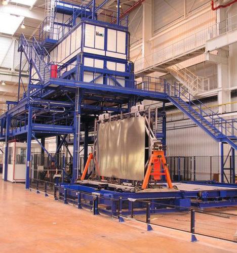 Industrieaöfen Wärmebehandlung Luftfahrt