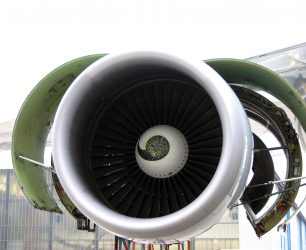 """An airplane engine with itA"