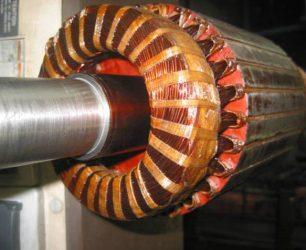 Manufacturer furnace electric motor winding drying