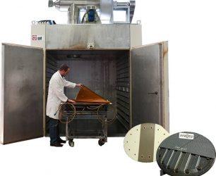 Manufacturer industrial oven composite aeronautics parts