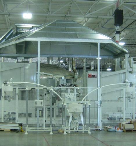Slush Moulding Machine Manufacturer Automotive Industry.