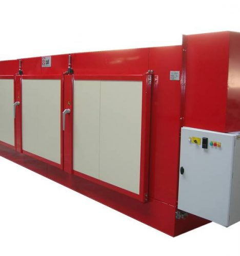 Tunnel oven manufacturer for drum pre-heating