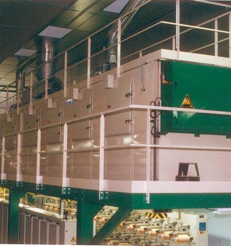 Wärmebehandlungstunnel für Textilfasern Glasfaser